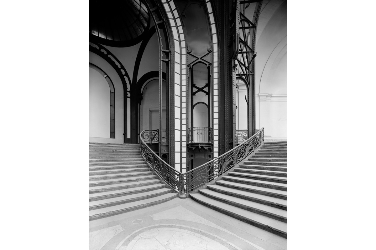 Grand Palais, Steel